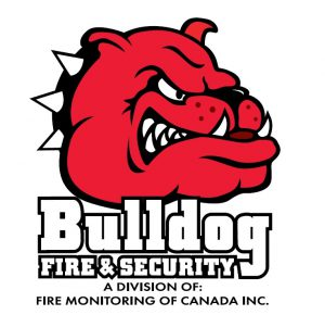 bulldog fire and security logo